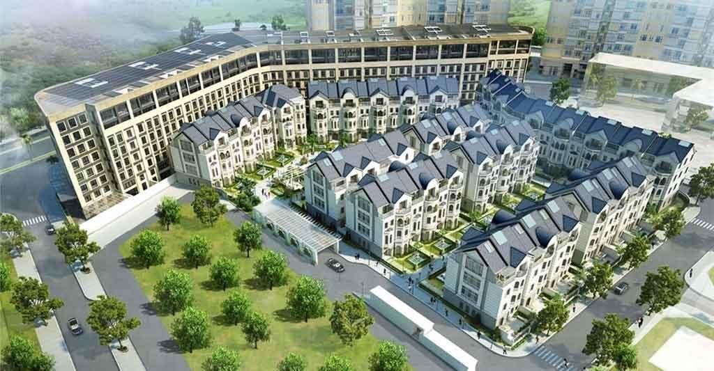 Biệt thự Saigon Pearl Villas