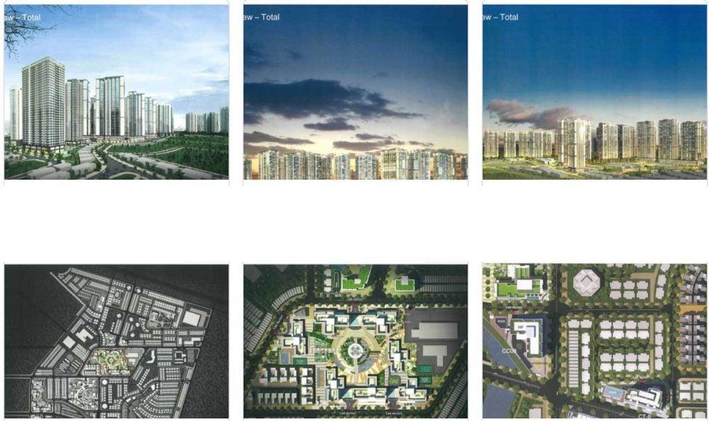 Hình phối cảnh dự án Laimian City