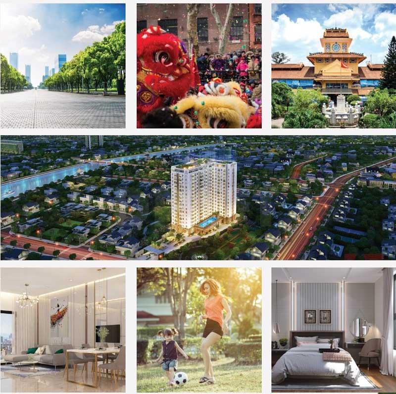Dịch vụ và tiện ích khu căn hộ Saigon Asiana