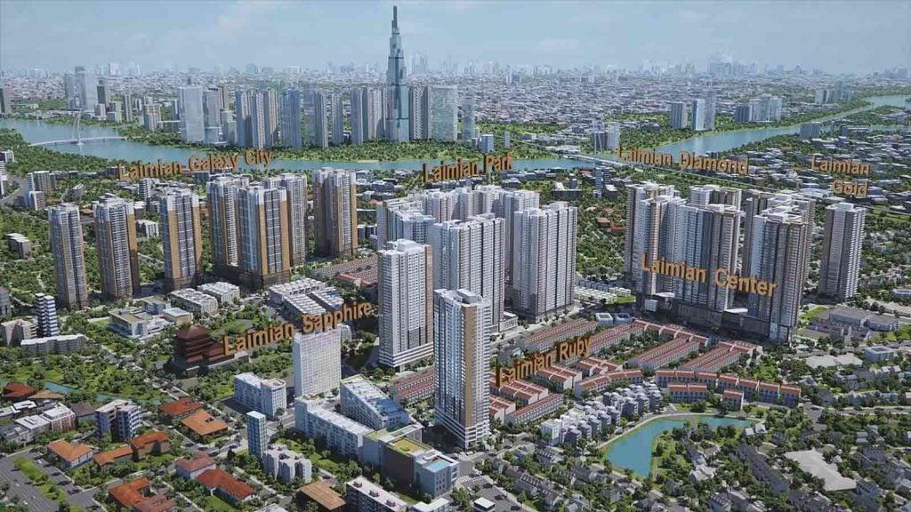 Dự án căn hộ Laimian City