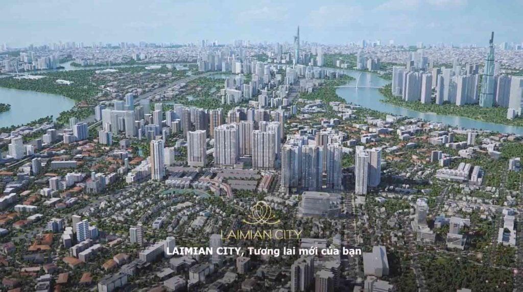 Laimian City tương lai mới của bạn