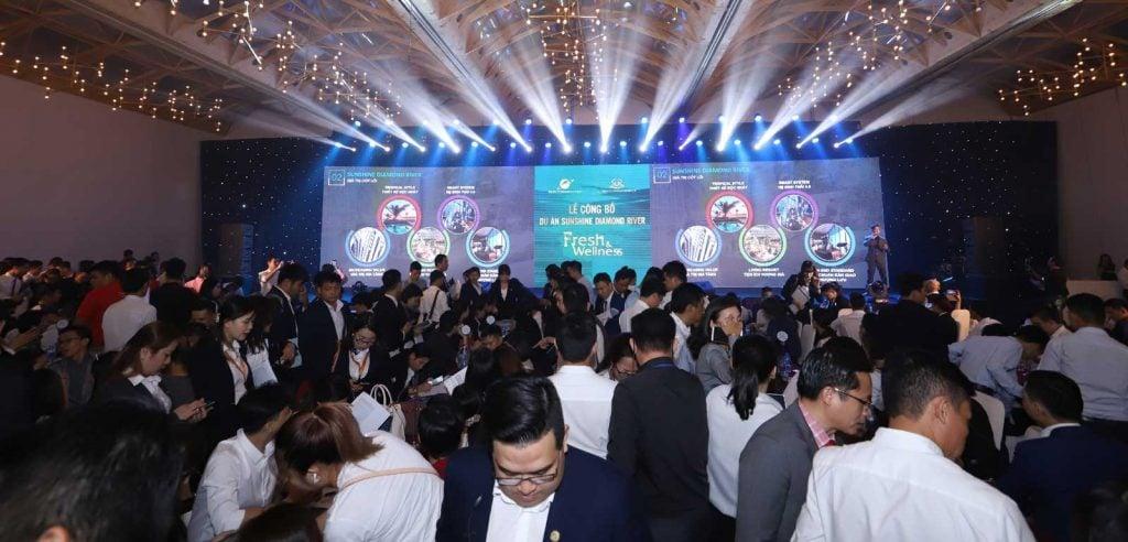 Lễ công bố dự án bất động sản của tập đoàn Sunshine Group tháng 11-2019