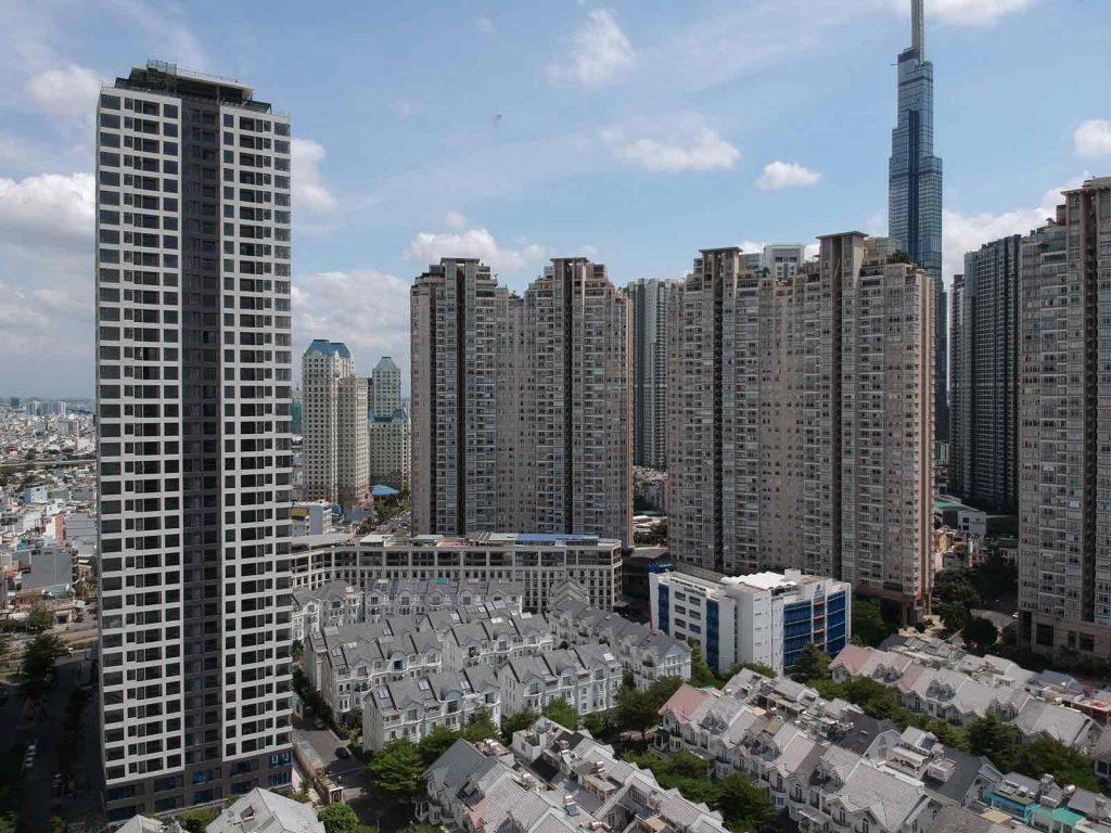 Opal Tower là khu dân cư phức hợp cuối cùng của dự án Saigon Pearl