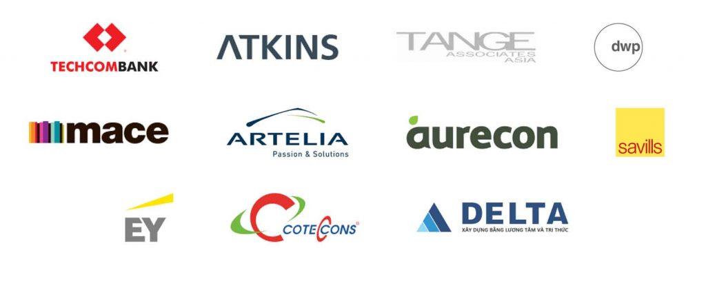 Các đối tác của tập đoàn Masterise Group