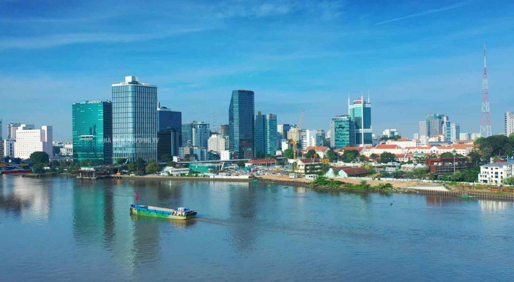 3 năm nữa phía bên phải hình sẽ là những tòa tháp căn hộ Grand Marina Saigon hạng sang bậc nhất Sài Gòn