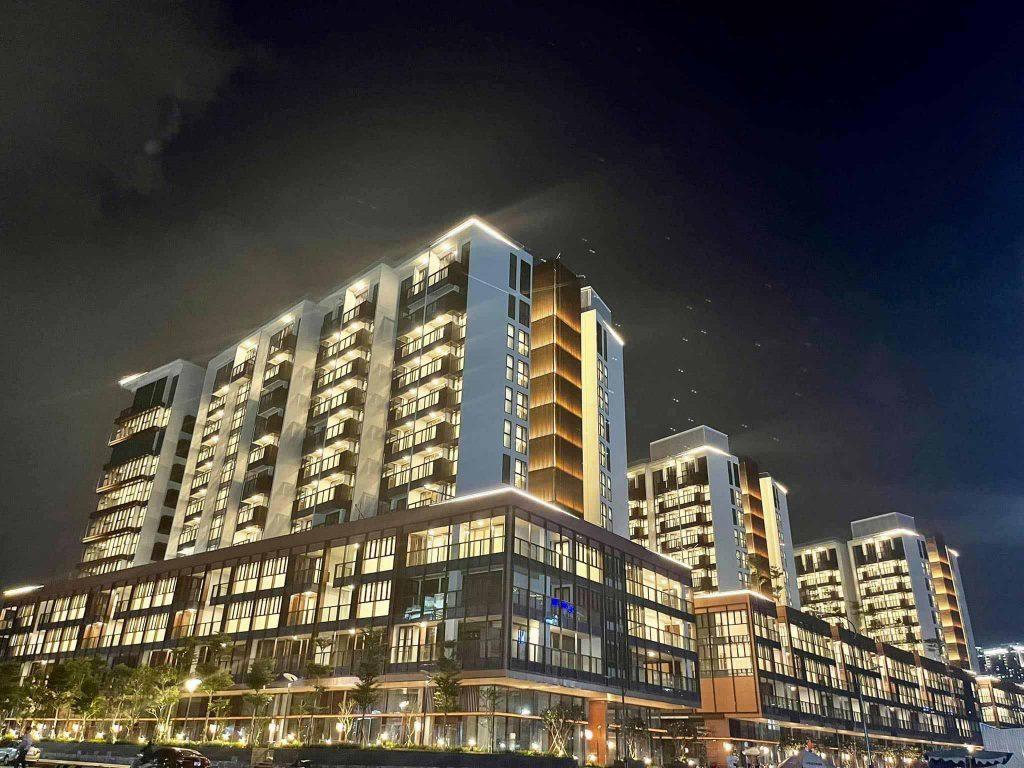 Hình ảnh thực tế khu căn hộ The Metropole Thủ Thiêm giai đoạn 1 chuẩn bị bàn giao và cho thuê